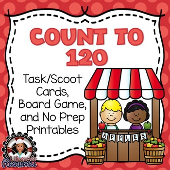 Count to 120 Game and Printables