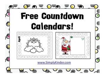 Countdown Calendars {Simply Kinder}