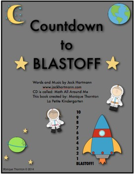 Countdown to Blastoff by Jack Hartmann (Counting backwards