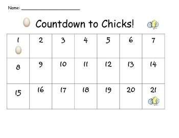 Countdown to Chicks!