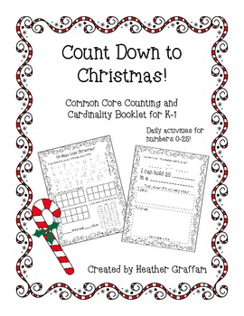 Countdown to Christmas: Common Core Counting and Cardinali
