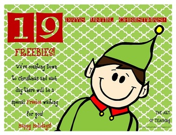 Countdown to Christmas...19 Days Left!