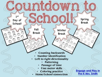 Countdown to School!