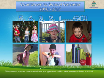 Countdown to School Calendar - Christian