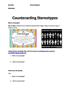 Counteracting Stereotypes Presentation