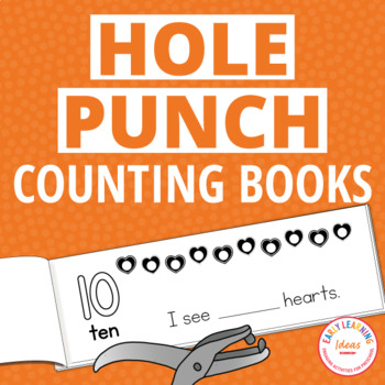 Counting 1-10 Interactive Hole Punch Counting Books