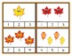 Counting 1-20 - Fall Leaves Clip Cards