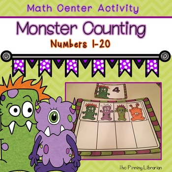 Counting 1-20 (Monster Themed)