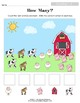 Counting 1 - 5 Preschool Math Pack