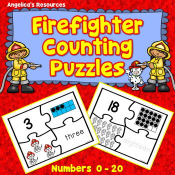 Counting and Cardinality: Firefighter Counting Puzzles