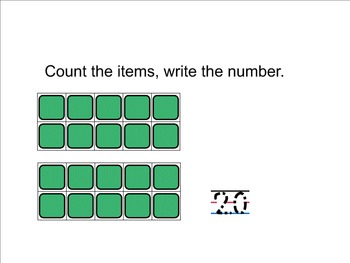 Counting 20 Smart Notebook