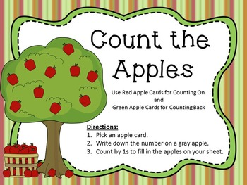 Counting Apples Bundle (Counting by 1s, 5s, & 10s)