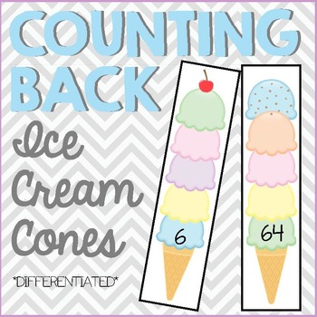 Counting Back - Ice Cream Cones