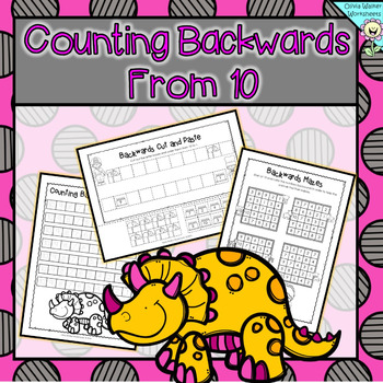 Counting Backwards From 10 - Ten to One - Kindergarten Wor