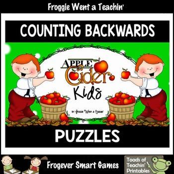 "Counting Backwards by Ones--Number Sequencing Puzzles ""App"