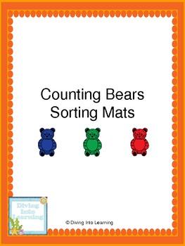 Counting Bears- Sorting Mats