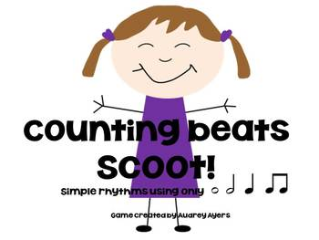 Counting Beats Scoot! -Simple Rhythm Review