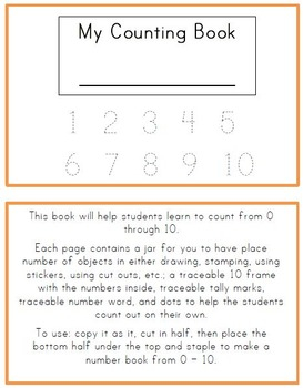 Counting Book 0 - 10