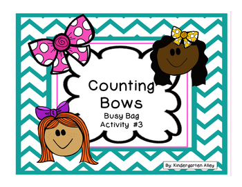Counting Bows: Busy Bag #3