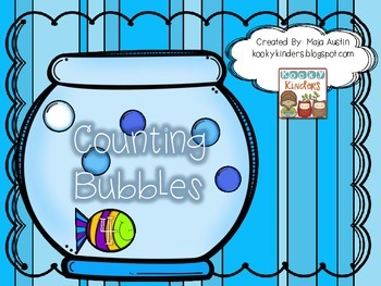 Counting Bubbles Math Center
