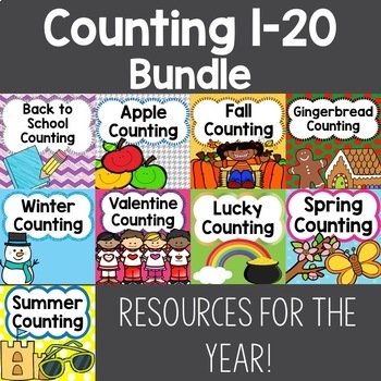 Counting Groups 1-20 Bundle