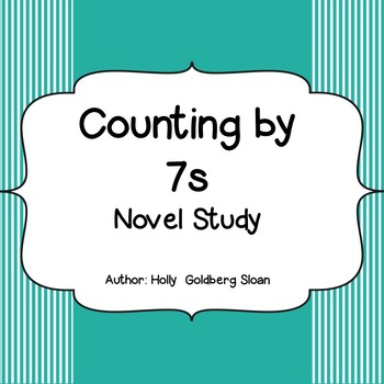 Counting By 7s Literature Study