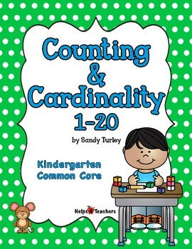 CCSS K.CC: Counting & Cardinality 1-20