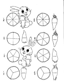 Spring Bunnies Counting Carrots first and second grade fra