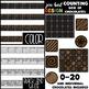 Counting Clip Art Club -Chocolate BUNDLE {jen hart Clip Art}