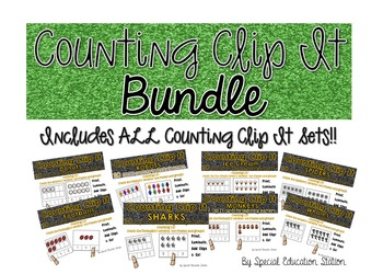 Counting Clip It *Growing Bundle*