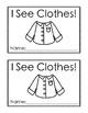 Counting Clothes: A Preschool Reader Book
