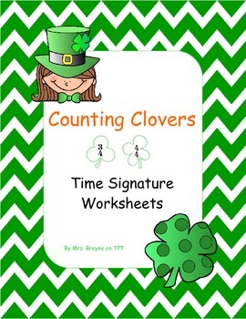 Counting Clovers: Time Signature Worksheets
