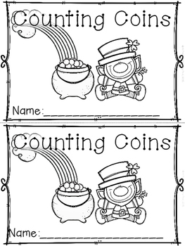 """Counting Coins"" (A March/Spring Emergent Reader Dollar Deal)"