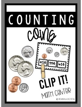 Counting Coins Clip It!