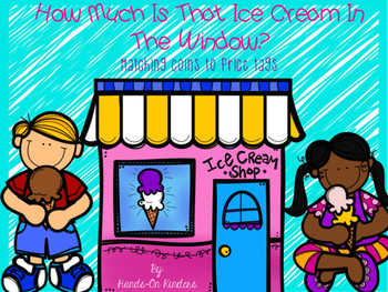 Counting Coins Ice Cream Theme