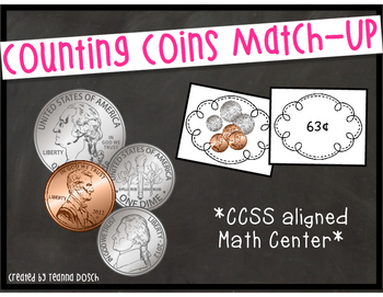 Counting Coins Match-Up