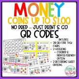 Counting Coins to $1.00 QR Codes