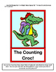 """""""Counting Crocodile Math Game!"""" - Count By Ones, Twos, or"""