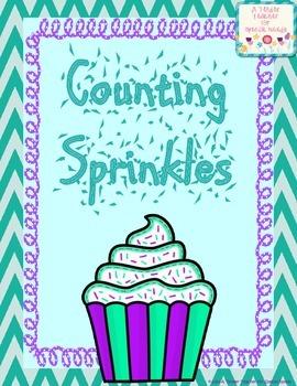 Counting Cupcake Sprinkles (Numbers 1-10)