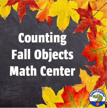 Counting Fall Objects - Matching Cards