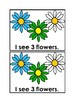 Counting Flowers Emergent Reader Book in color for Prescho