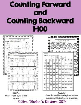 Counting Forward and Counting Backward - Spring Math
