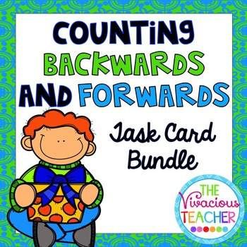 Counting Forward and Counting Backwards Task Cards