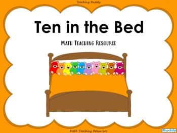 Counting Forwards and Backwards - 10 in the Bed
