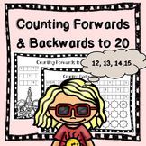 Counting Forwards and Backwards to 20 (Freebie)