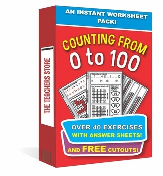 Counting From 1 to 100 - An Instant Worksheet Pack (Common