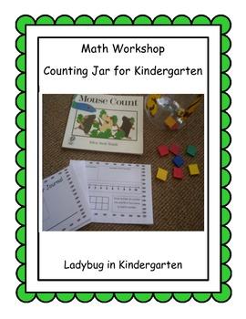Counting Jar for Kindergarten