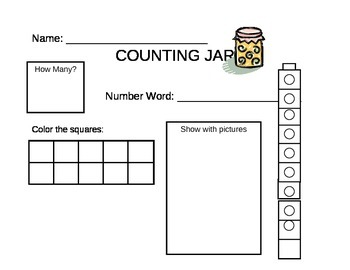 Counting Jar to 10