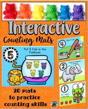 Counting Mats 1-10 ~ Playdough