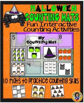 Counting Mats~Halloween {1-20}